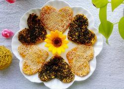 奶香芝麻南瓜饼