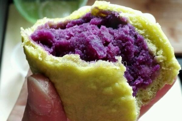 紫薯包 芋头包