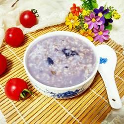紫薯燕麦粥的做法[图]