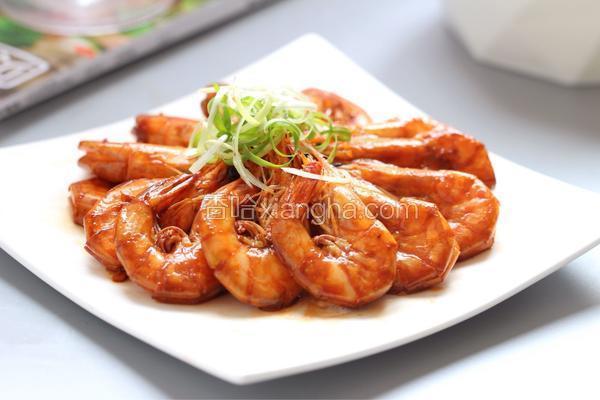 年夜饭_红烧大虾