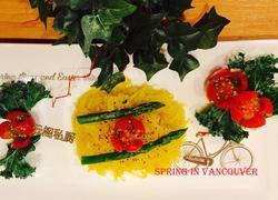 西餐烤焗意大利面条南瓜