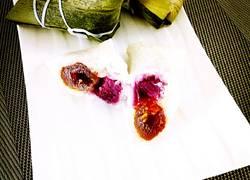 紫薯蜜枣粽