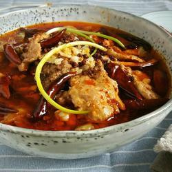 私房水煮肉片
