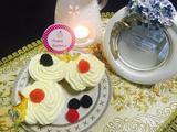 鲜奶油椰香杯子蛋糕的做法[图]