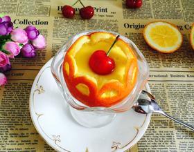 鲜橙蒸蛋[图]