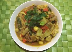 印度彩蔬咖喱鸡