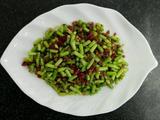 肉沫蒜苔粒~家常菜的做法[图]