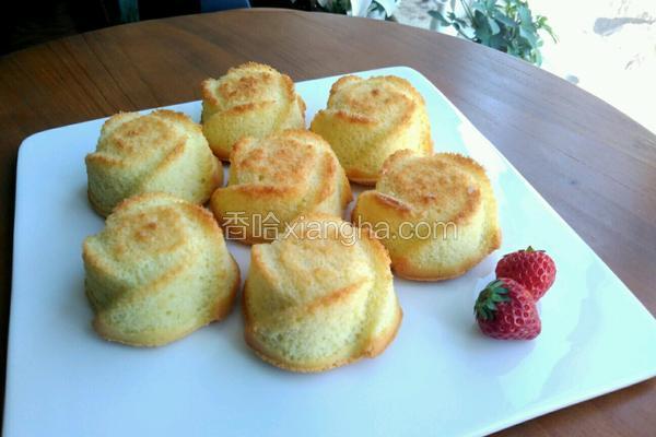 金玫瑰海绵蛋糕