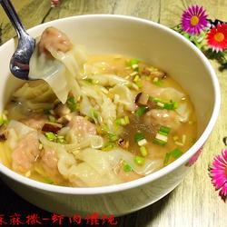 虾肉小馄饨的做法[图]
