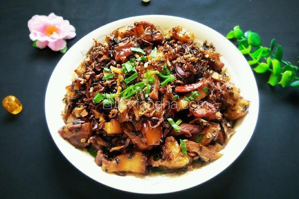 梅干菜红烧肉