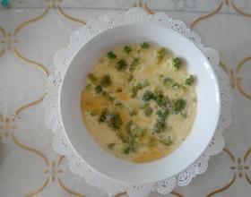 西兰花蒸蛋[图]
