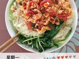 番茄鸡蛋蔬菜浇面的做法[图]