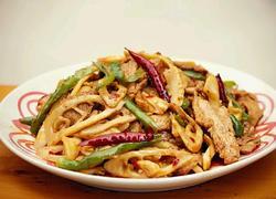 竹笋炒肉片