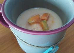 芒果牛奶冰沙