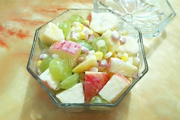 玉米水果沙拉