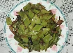 青扁豆小炒肉