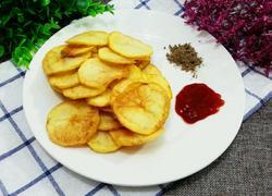 自制零食炸薯片