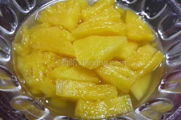 自制菠萝罐头