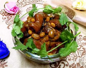 花生黄豆炖猪蹄