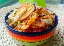 榨菜时蔬炒饼