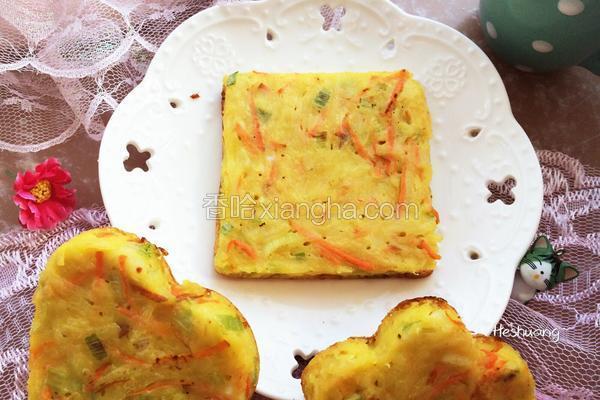 蔥香土豆雞蛋餅