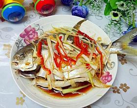 清蒸金鲳鱼[图]