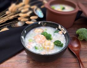 鲍鱼鲜虾粥[图]