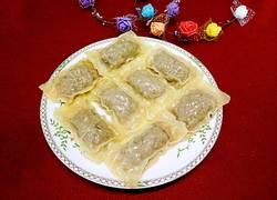 糖果蒸饺(芹菜猪肉馅儿)