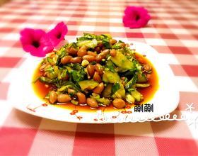 五香花生米拌黄瓜[图]