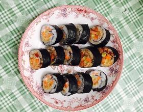 辣味火腿肉松寿司