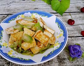 丝瓜炒豆腐[图]