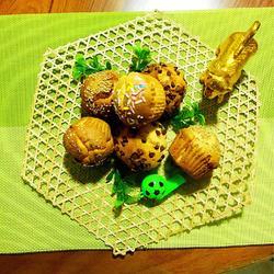 蜂蜜芝麻巧克力豆小蛋糕