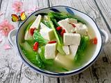 小白菜炖豆腐的做法[图]