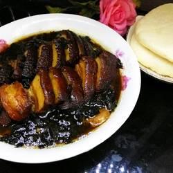 茶香梅菜扣肉的做法[图]