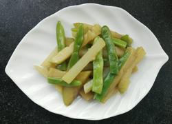 豆角炖茄子~家常菜