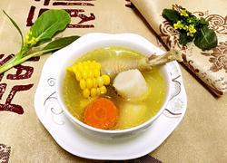 玉米山药炖鸡汤