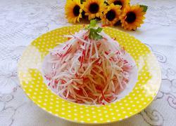 糖醋红水萝卜