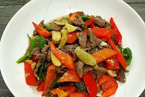 野山椒炒牛肉