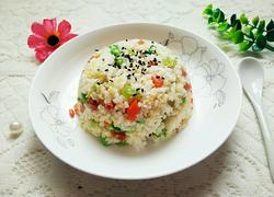 什锦炒杂米饭