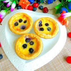 蓝莓蛋挞的做法[图]