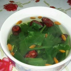 枸杞大枣车前草汤的做法[图]