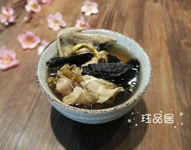 石斛灵芝炖鸡汤[图]