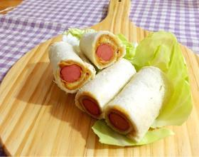 香肠卷三明治[图]