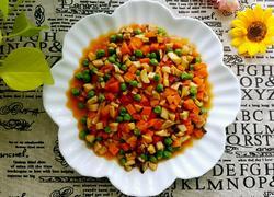 豌豆烩三鲜