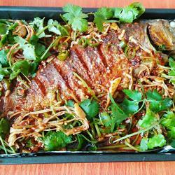 烤箱 烤鱼