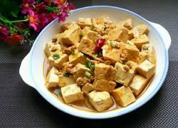 牛肉末烧豆腐
