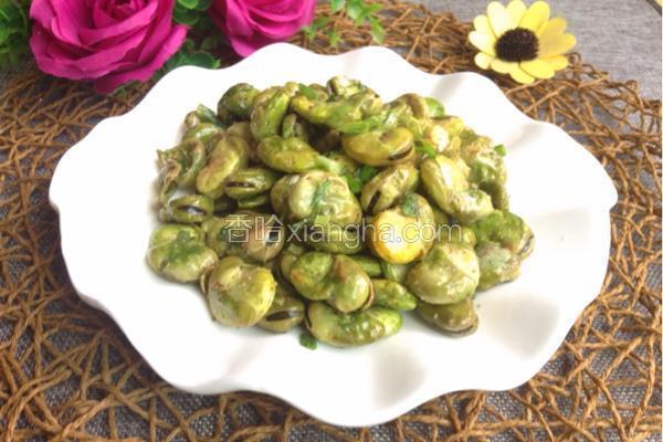 葱油浸蚕豆