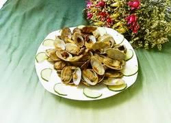 辣炒花蛤蜊