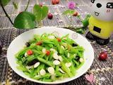 蒜香菠菜梗的做法[图]