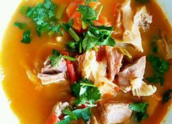 番茄牛肉汤